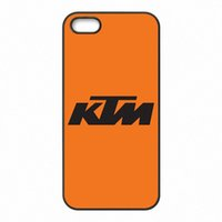 Design KTM Logo Custodie per copertine Custodie in plastica dura per iPhone 4 4S 5 5S SE 5C 6 6S 7 Plus iPod touch 4 5 6