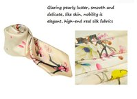 Wholesale Hangzhou Scarf - high grade Small Mulberry silk scarves,Silk scarves,High-grade silk kerchief,female Small squares scarves from hangzhou silk on hot sell