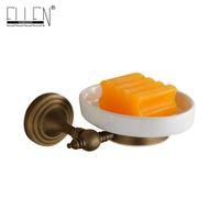 ingrosso portaoggetti antichi-Accessori per il bagno Portasapone Portasapone in bronzo anticato per bagno Hardware -80285