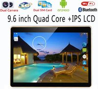 Wholesale Tablet Pc Google Android 16gb - 9.6 inch Tablet pc Google Android 5.1 2GB RAM 16GB ROM Tablet Bluetooth \ GPS \ WCDMA \ GSM\Dual Sim Card Tablets