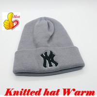 moda boné de neve venda por atacado-Cap inverno Gorro de Moda Unisex Gorros  Chapéu 3048c11e00f