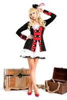 Wholesale Pirate Princess Halloween Costume - Halloween Pirates costume cosplay queen dress clothes adult female costumes noble Princess Costumes Fancy Noble Lady Cosplay Outfit