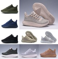 Wholesale 3d Ocean - HOT sale Tubular Shadow 3D Shoes Knit Core Triple Black White Cardboard Women Men 350 Boost Sneaker Size 36-45