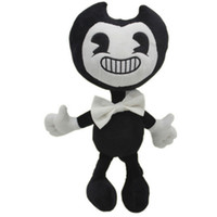 """Wholesale New Soft Doll - Hot New 12"""" 30CM Bendy and the Ink Machine Plush Doll Soft Anime Collectible Kid's Dolls Best Gifts Stuffed Toys"""
