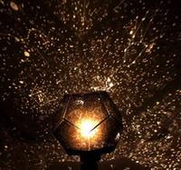 spielzeug für weihnachten diy großhandel-DIY Spielzeug Human Science Saisonale Star Sky Projektor Home Planetarium Nachtlicht Star Projector Party Weihnachten Nachtlicht