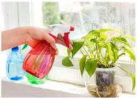 Wholesale Gardening Spray Bottles - Gardening Cans Flower Spray Bottle Multifunction Plastic Watering Pot Plant Grass Fine Mist Fresh Alive Tools WA0849
