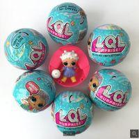 Wholesale Toy Egg Cm - 10*10*10 cm LOL Surprise Toys LOL Dolls girls cartoon LOL surprise doll water spray Surprise Egg Color change Toy Figures Dolls