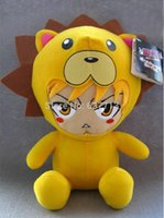 "Wholesale Kon Bleach Toy - 30pcs lot Anime Cartoon Bleach Kon Plush Toy Soft Stuffed Doll Gifts 12""30CM 1206#06"