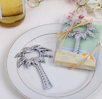 baumflaschenöffner großhandel-Beach Party Kokospalme Flaschenöffner Hochzeitsbevorzugung Und Geschenk Für Gäste Souvenirs Hochzeit Event Party Supplies