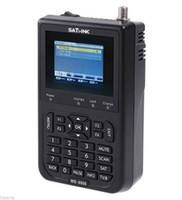 """Wholesale Satellite Meters - satellite finder Satlink WS-6906 3.5"""" DVB-S FTA digital satellite meters Finders ws 6906 satlink ws6906 free shipping post"""