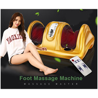 Wholesale Therapy Massage Infrared Sauna - Electric Vibrating Foot Massager Health Care Massage With Infrared Heating Therapy Shiatsu Kneading Air Pressure Machine