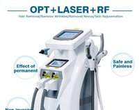 Wholesale 4in1 OPT E LIGHT IPL RF skin care hair removal machine IPL hair removal equipment
