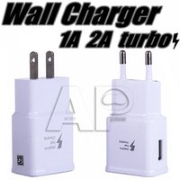 Wholesale Usb Charge 2a - 5V 2A USB Wall Fast Charger Turbo Adapter Charging 2A EU US Plug For Samsung Galaxy S7 Edge S8 Plus Note8 Fast Cable