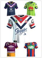 Wholesale Australia Army - 2018 NRL JERSEYS SYDNEY ROOSTERS 2017 Hot sales Australia Sydney Roosters football jersey Rugby Jerseys size S-3XL