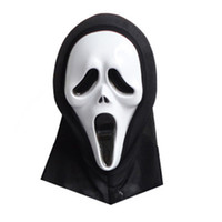 jouets spiderman bleu achat en gros de-Masques Screams Film Masque masque facial pour femmes hommes Vente chaude de haute qualité Screams Horrible masque
