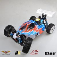 Wholesale Nitro Power Truck - Wholesale-MK Nitro Powered GO21 Engine Remote Control Truck Racing Car Nylon Frame