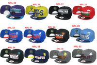 Wholesale Nrl Snapback Wholesale - Wholesale NRL Snapback Hats Adjustable Basketball Snap Back Warriors Caps Black Hip Hop Snapbacks Hat High Quality