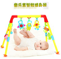 Wholesale Newborn Toys Piece - Newborn Baby Bed Toy 0-1 Years Old Educational Early Childhood Music Baby Toys Fitness Frame Bed Bell Bed Hang Toys 1 Piece