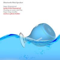 Wholesale Super Sucker - 2016 designer bluetooth mini speakers super watterproof, portable bluetooth 2.1 speakers for all phones, cell phone holders, Sucker speakers