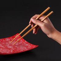 Wholesale Chopstick Bamboo - 150Pairs chopsticks Bamboo Chopsticks 24cm kitchen Dining bar Tableware bamboo eco friendly Chop Sticks #FR46