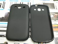 Wholesale S3 Mini Case Gel - New Soft Silicone TPU Gel Frosted Skin Back Cover Case For Samsung Glaxy S3 S4 S5 S6 S7 S3 MINI I8190 S4 MINI  I9190 S5 MINI