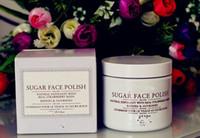 Wholesale Exfoliate Cream - sugar face polish 100ml Bright color Chen sugar bright exfoliate Brown sugar Mask 100ml pregnant women can be used