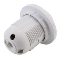 ingrosso adattatore lampadina lampada e27-Adattatore per portalampada in plastica E27 con base a vite per lampada lampadina a LED 100pz