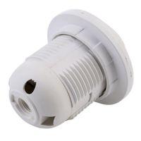 led lamba vidası tabanı toptan satış-Plastik E27 Vida Baz Soket Tutucu Adaptörü LED Ampul Lamba için 100 adet