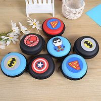 Wholesale Cartoon AVENGERS Multi function Headset storage box small mini Coin Bag mini Coin Purse change wallet purse Kids coin Wallet