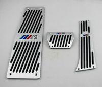 pédales de frein bmw achat en gros de-Pédale de repose-pied de frein de carburant sport réglée pour BMW X5 E53 2000-2006 à LHD