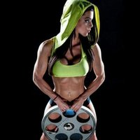 Wholesale Cropped Hoodies Wholesale - Wholesale-Women Crop tops hoodies Tank Tops Fitness Bodybuilding Clothing for women bodybuilders Workout hoodie sweatshirts