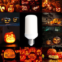 Wholesale Flame Lamp LED Decorative Lights Flicker Flame Light Bulb Creative Fire Effect Bulb Decorative Lamp Bulb V V