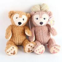 Wholesale Teddy Bear Couple Stuffed Animals - 40cm Duffy Bear Shelliemay Couple Gift Lover Gift Valentine's Day Plush Toys Soft Stuffed Animals Bear Plush Christmas Gift Dolls