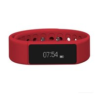 Wholesale i5 plus bracelet online – I5 Plus Smart Bracelet Band Waterproof Bluetooth Pedometer Sleep Monitor Fitness Tracker Wristband for smartphone With Retail Packing