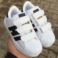 Wholesale Baby Closes - HOT Children Kids Baby Boy Girl Casual Fashion Superstar Shell Toe Board Shoes Female Sneakers Child Zapatos Deportivas Mujer Sapatos Shoes