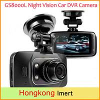 Wholesale Recording Dvd Player - car dvd Novatek 96220 Car DVR Camera GS8000L Full HD 1080p Dash Cam Video Recorder + G-sensor + Night Vision + Cycle Recording