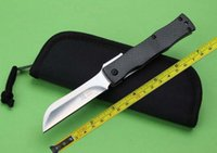 Wholesale New Full TC4 Titanium Carbon Handle D2 Blade Folding Pocket Knife F