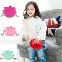 Wholesale Kids Jelly Purses - 4 Colors Kids Jelly Messenger Bag Baby Bags Children's Cute Kids Purse Children Crossbody Bag Fashion Toddler Shoulder Bag CCA8088 20pcs