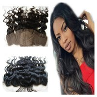 9A Virgin Malaysian Human Hair 4x4 Seide Base Lace Frontal Verschluss Bleached Knoten Body Wave Wavy Seide Top Lace Frontal Haar Stücke 13x4