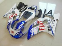 Wholesale Yzf R6 Fiat - 3 Free gifts New ABS Fairing Kits 100% Fitment For YAMAHA YZF-R6 98-02 YZF600 1998 1999 2000 2001 2002 bodywork set white blue red FIAT