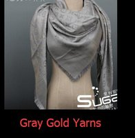 Wholesale Square Lace Scarves - zhu 2018 Quality Shiny Lurex Yarns shawl cotton scarves & wraps silk wool shawls square Design 150*150cm Fashion Pashmina