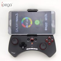 Joypad Joystick Con Gaming Joystick IPG Wireless Gaming Pad PG-9025 Per rivestimento in gomma per iOS / Android Tablet PCS Black / White