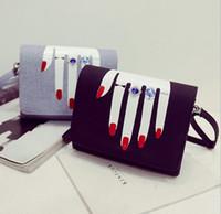 Wholesale Ladies Fashion Cross Ring - Women Hand Flap Shoulder Bags Casual PU Fashion Ladys Ring Crossbody Messenger Bag Buckle Money Phone Money Handbags Top Quality