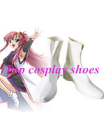 Wholesale Gundam Seed - Wholesale-Mobile Suit Gundam SEED Lacus Clyne Cosplay Shoes Ver 2 #NC018 Halloween Christmas festival shoes boots