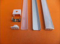 Wholesale Pcb Industrial - Free Shipping 20set lot embedded led channel ,led bar light housing , aluminium profile for led strip, 12mm PCB board