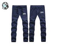 Wholesale Male Pants Casual Sports - New Famous Brand Quick Dry Training Male Casual Black Long Trousers Slim Fit Sport Pencil Pants Plus Size BBC Changwei pants