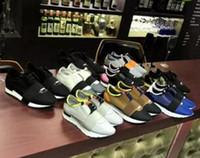 итальянские шнурки для обуви оптовых-Высокое качество бесплатная доставка итальянская мода новые мужчины и Женщины Повседневная обувь открытый дизайнер лоскутное смешанный цвет сетки кружева удобный мужской
