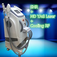 Wholesale Best Laser Tattoo Machine - 2017 best painfree Spa and clinic use SHR IPL Super Hair Removal Nd Yag Laser Tattoo Removal RF Skin Rejuvenation Machine For Salon