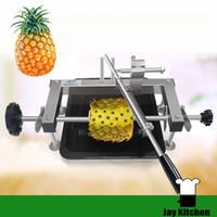 Wholesale Pineapple Peeler Machine - Pineapple peeling machine stainless steel commercial pineapple peeler cutter industrial pineapple eye remover knife efficiency tools
