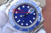 Wholesale Ceramic Bezel Swiss - Luxury Best Edition NOOB Factory V7 40mm Ceramic Bezel 116610 116610LN 116610LV 116619 Swiss ETA 3135 Movement Automatic Mens Watch Watches